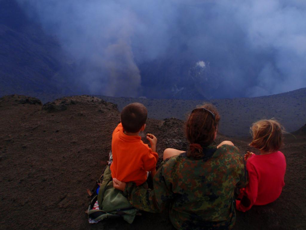 Volcan de Tanna, il fait chaud!